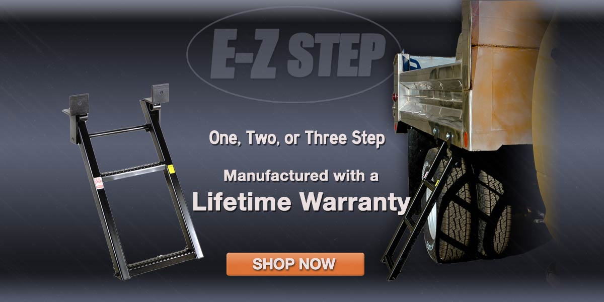 E-Z Steps Manufactured with a Lifetime Warranty