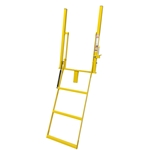 "Swing Down Step Double Handle 18"" Wide w/ Stake Pocket"