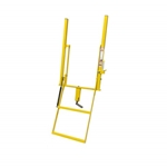 Double Handle Wide 2 Step Adjustable Stake Rolson Ladder