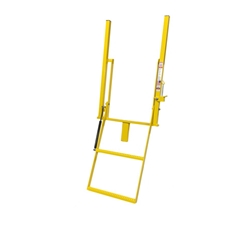 Double Handle Wide 2 Step Solid Stake Rolson Ladder